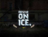 Nike Bauer. Rescue on Ice.