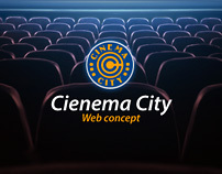 Cinema City web concept