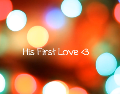 His First Love; Stop Motion Video