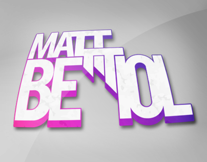 Matt Bettiol Logo Design