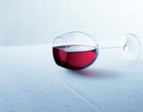 PRINT - Reckitt Benckiser, Vanish, Glass of Wine