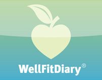 WellFitDiary® - Mobile App / Information Design
