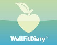 WellFitDiary® - Mobile App / Information Design
