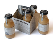 Café Frappé packaging