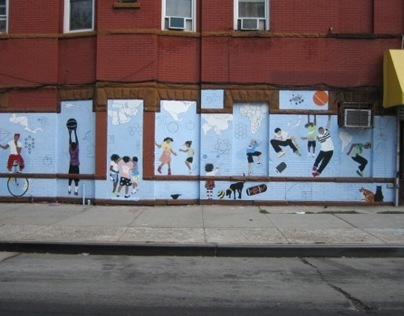 Brooklyn city Mural
