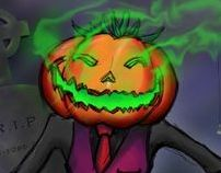 Jack o Lantern Illustration