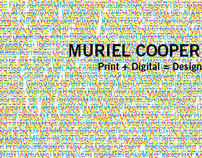 Muriel Cooper Print + Digital = Design