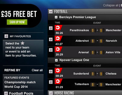 Ladbrokes.com // IN-PLAY