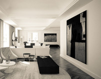 Luxury Apartment in Rome / CG WORK