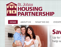 WEBSITE DESIGN: St. Johns Housing Partnership