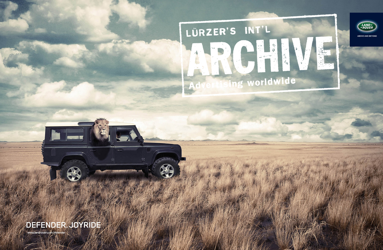 LAND ROVER DEFENDER LION