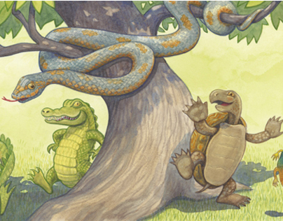 Leapin Lizards childrens book