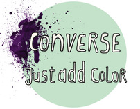 Converse /// Just Add Color