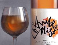 Amber Mist Wine Concept