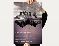 Concept Poster design for Kria Interactive