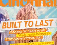 Cincinnati Magazine cover - August 2012 Built to last