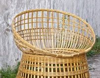 Raw Kombong Chair