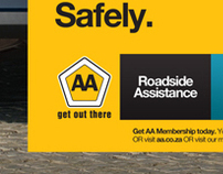 AA Magazine Advert (kids in 4x4)