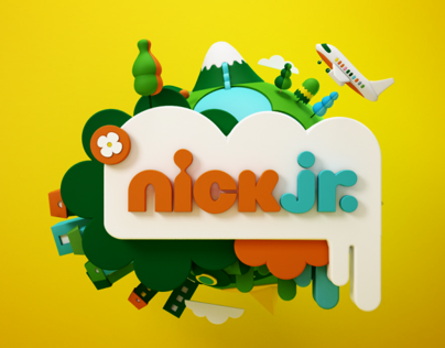 Nick Jr - Rebrand