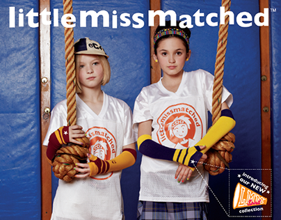 LittleMissMatched Marketing, Retail & Packaging Design