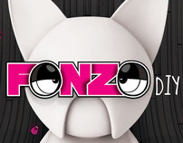 FONZO DIY Vinyl Toy