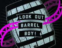 Look Out Barrel Boy! Shirt
