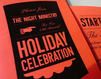 Holiday Celebration Brochure