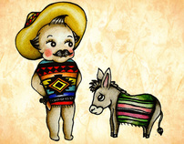 Mexican Kewpies by:Alejandra L Manriquez.
