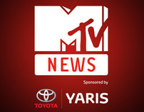 MTV NEWS APP sponsored by TOYOTA YARIS