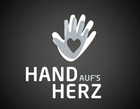 Corporate Identity. HandAufsHerz.