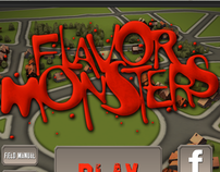 Flavor Monsters (Unity3D Professional  Project)