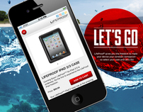 Lifeproof Mobile Site