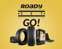 Roady, Set, Go!