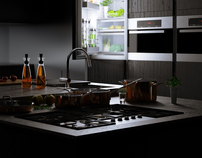 CG STILLS / 3D KITCHEN & CG LOCATION