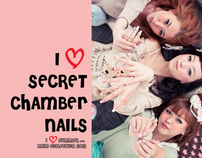 I Love SUMMER ....  By Secret Chamber Nails