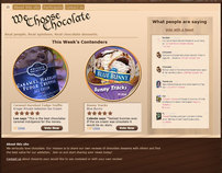 Site Mockup - We Choose Chocolate