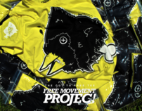 Free Movement Projec - The Cut To Free Tee