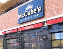 McCabe's Bistro & Pub identity