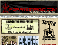 Popfreeradio.com ~ Website