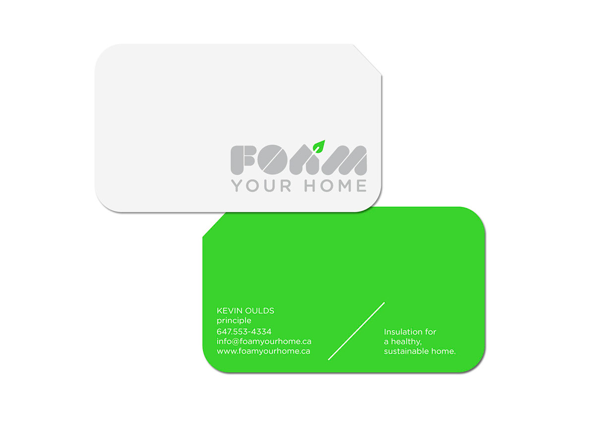FOAM YOUR HOME ECO INSULATION IDENTITY