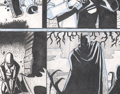 Batman Sample Pages