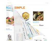 Whirlpool Homepage Takeover on Real Simple