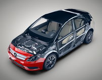 Mercedes-Benz B-Class Virtual Factory
