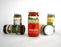 Tom Douglas: Sauce Packaging