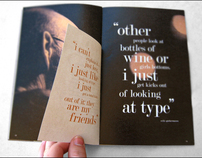 Typography - Process Books