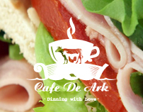 Cafe De Ark I Branding I Website