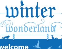 Winter Wonderland | Branding/Environmental Design