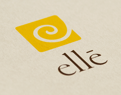 Elle Salon – Identity/Collateral