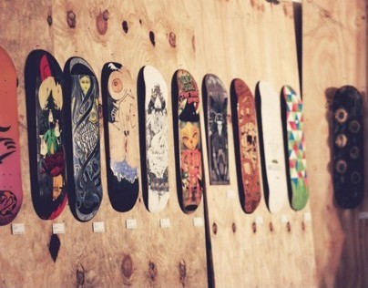 PLANK - A skate deck exhibition