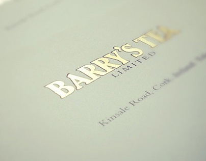 Barry's Tea stationery